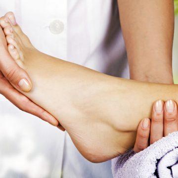 Klasyczny masaż stóp