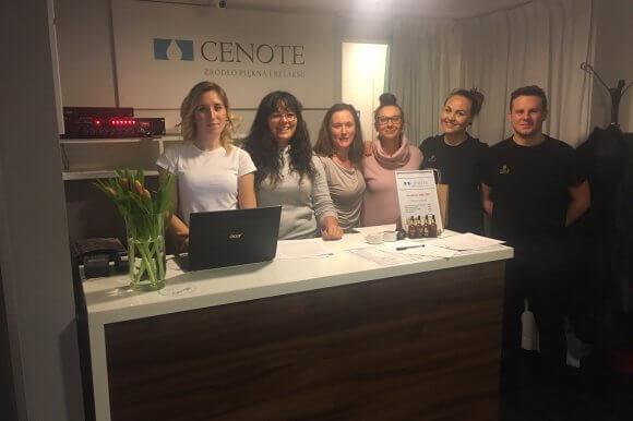 Szkolenie YO!ZEN dla SPA CENOTE, Gdańsk, Hotel Hanza.